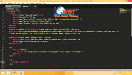 mẫu HTML