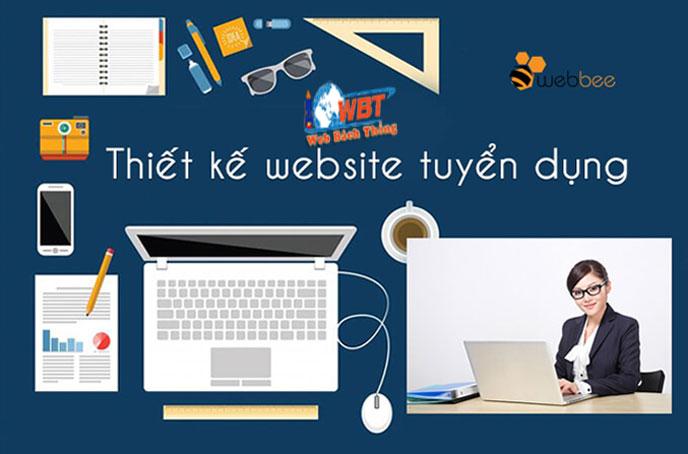 thiết kế website tuyển dụng nhân sự