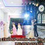 Thiết kế website ảnh viện áo cưới chuyên nghiệp giá rẻ chỉ từ 500k.