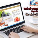 Thiết kế website bán hàng trực tuyến chuẩn seo chuẩn di động