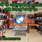 Thiết kế website bán phụ tùng giá rẻ và chất lượng Bách Thắng