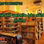 Thiết kế website bán sách đẹp và hiệu quả kinh doanh cao
