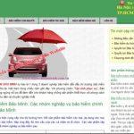 Thiết kế website bảo hiểm giá rẻ chuẩn seo hiệu quả cao