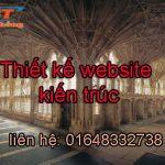 Thiết kế website kiến trúc giá rẻ chuẩn seo mới lạ và bắt mắt