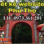 Thiết kế website tại Phú Thọ nơi được nhiều người tin dùng nhất.