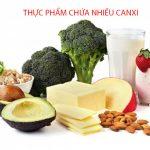 Thực phẩm chứa nhiều canxi ? Tác dụng của việc bổ xung canxi qua thực phẩm