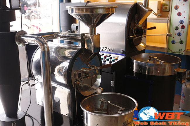 máy rang xay cà phê