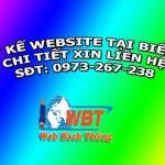 Thiết kế website tại biên hòa chuyên nghiệp uy tín nhất