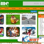 Thiết kế web game online đẹp mắt giá rẻ nhất thị trường