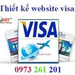 Thiết kế website làm visa hiện đại chuyên nghiệp nhất 2017