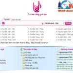 Thiết kế website từ điển online giá rẻ chất lượng tốt nhất thị trường