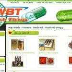 Thiết kế website nhà thuốc đông y chuyên nghiệp đẳng cấp nhất