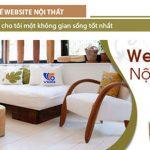Dịch vụ thiết kế website nội thất chuẩn seo chuyên nghiệp