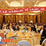 Thiết kế website tổ chức sự kiện chuẩn seo giá rẻ nhất thị trường