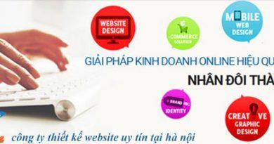 công ty thiết kế website uy tín tại hà nội