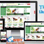 Thiết kế website bán tinh dầu uy tín giao diện web đẹp nhất