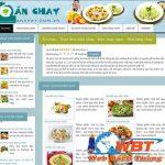 Thiết kế website bán đồ ăn chay giá rẻ chuẩn seo chuẩn di động