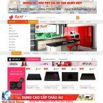 thiết kế website bán đồ gia dụng tại hà nội chuẩn seo chuẩn di động