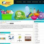 Thiết kế website bán đồ nhựa online giá tốt uy tín nhất thị trường