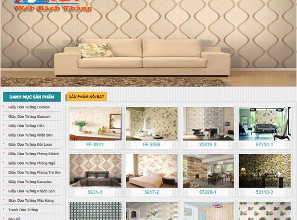 Thiết kế website bán giấy gián tưởng chuẩn seo giá rẻ