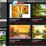 Thiết kế website bán khung tranh – bảo hành web trọn đời