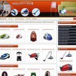 Thiết kế website bán máy hút bụi chuẩn di động chuẩn seo