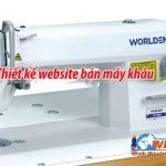 Thiết kế website bán máy may – giá rẻ tại Hà Nội