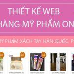 Thiết kế website bán mỹ phẩm online chuyên nghiệp giá tốt