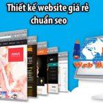 Thiết kế website chuẩn seo giá rẻ uy tín số 1 tại Việt Nam