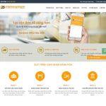 Thiết kế website vận chuyên hàng hóa nhanh giá rẻ