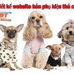 Thiết kế website bán phụ kiện thú cưng chuyên nghiệp giá rẻ