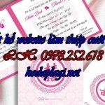 Thiết kế website dịch vụ in ấn thiệp cưới giá tốt nhất, chất lượng số 1