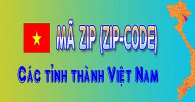Mã Zip Code là gì?