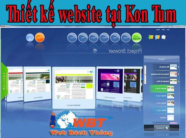 Làm website tại Kon Tum chuẩn seo