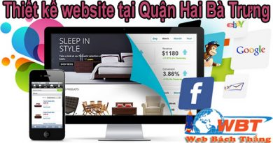 Thiết kế website tại Quận Hai Bà Trưng