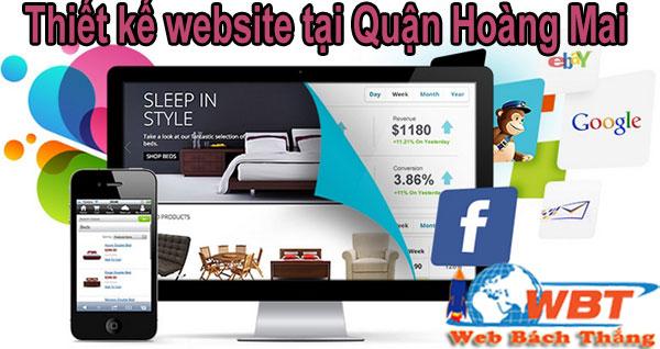 Thiết kế website tại Quận Hoàng Mai chuyên nghiệp