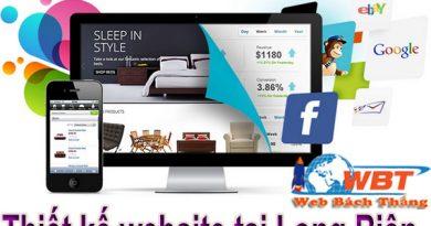 Thiết kế website tại Quận Long Biên chuyên nghiệpThiết kế website tại Quận Long Biên chuyên nghiệp