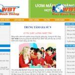Thiết kế website gia sư chuẩn seo chuyên nghiệp bảo hành trọn đời