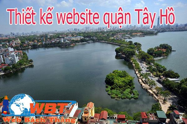 Thiết kế website tại quận Tây hồ