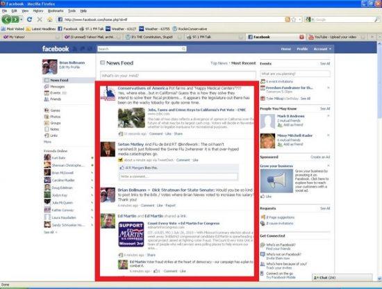 News feed là gì trên facebook