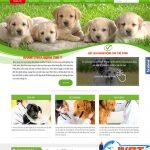 Thiết kế website bệnh viện thú y chuyên nghiệp theo yêu cầu