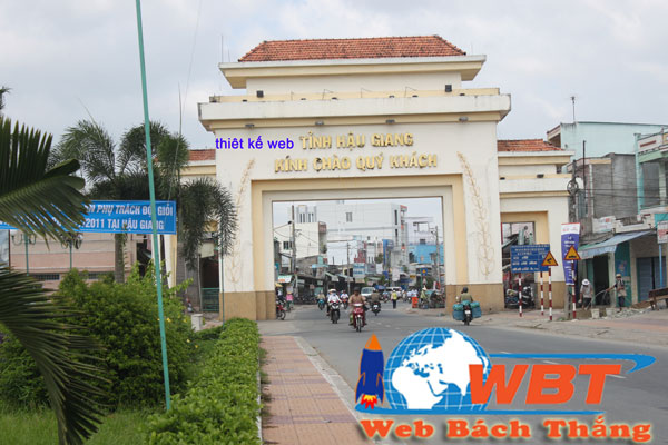 Thiết kế website tại tỉnh Hậu Giang