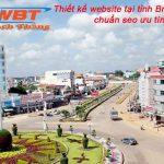 Thiết kế website tại tỉnh Bình Phước chuẩn seo ưu tín