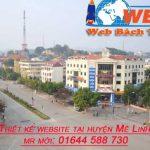 thiết kế website tại Mê Linh chuyên nghiệp giá rẻ