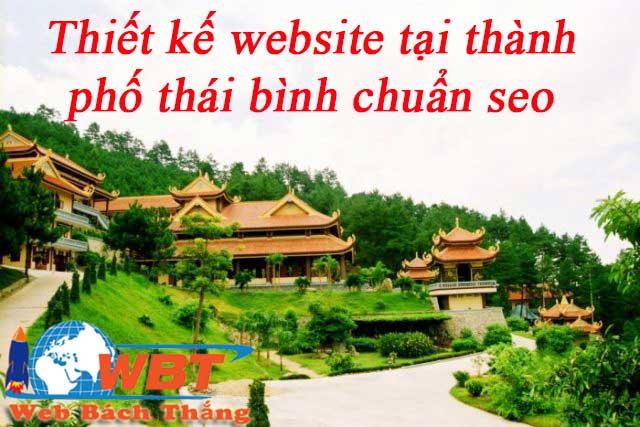 Thiết kế website tại thành ohố thái bình