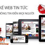 Thiết kế website tin tức chuyên nghiệp của hoidaplagi.net