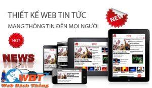 thiết kế website tin tưc chuyên nghiệp chuẩn seo