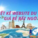 Làm website Du Lịch chuẩn seo chuẩn di động chuyên nghiệp