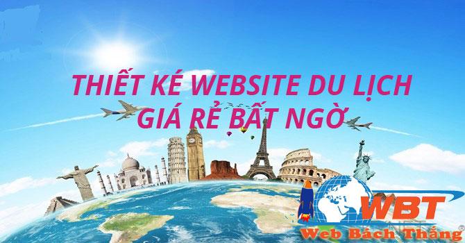 Làm website du lịch chuẩn seo uy tín