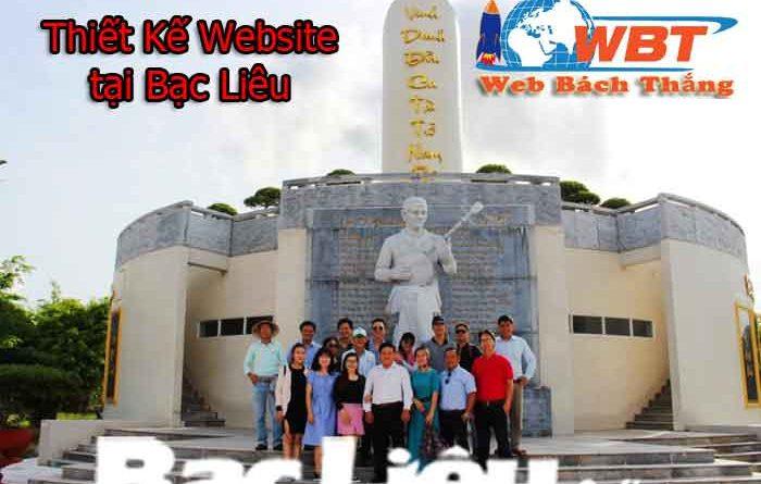 Thiết Kế Web tại Bạc Liêu chuyên nghiệp